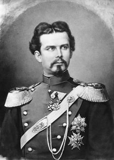 König Ludwig II. von Bayern, Fotografie von Franz Hanfstaengl, 1874 Linderhof Palace, Time In Germany, New Palace, Neuschwanstein Castle, A Moment In Time, Portraits, Ludwig, Historical Images, Museum