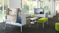 """Regard"" line by Steelcase is clean, simple, and comes in a variety of configurations."