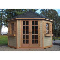 atlantis 5 sided storage shed - Garden Sheds 5 X 9