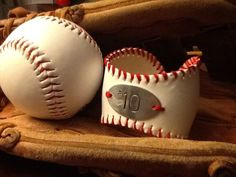 Personalized baseball cuff by MSCjewelry on Etsy, $25.00