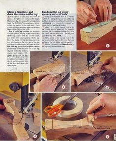 #3029 Shaping Cabriole Legs - Furniture Legs Construction