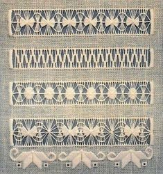 Arte del Filo Associazione Culturale Ricamo's media content and analytics Hardanger Embroidery, Embroidery Stitches, Embroidery Patterns, Hand Embroidery, Cross Stitch Patterns, Machine Embroidery, Monks Cloth, Vintage Crochet Patterns, Swedish Weaving