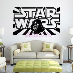 STAR WARS YODA Decal Removable WALL STICKER Art Decor Mural Saber Choose Size
