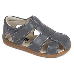 See Kai Run Boy's Jude Gray 6.5T M - http://all-shoes-online.com/see-kai-run/6-5t-m-us-boy-see-kai-run-jude-sandal-infant-toddler