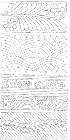 Quilting designs by lesa
