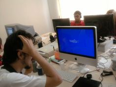 Blue Screen no Mac? (2009) #joke #windows
