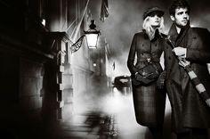 Burberry F/W 12.13: Gabriella Wilde & Roo Paner by Mario Testino