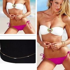 Cheap belt brown, Buy Quality belt press directly from China belt mens Suppliers:  Ebay Hot Sell Sexy Celebrity Occident Women Pearl Charm Bikini Body Chain Harness Hipster Belly Belt Waist Gold Plated