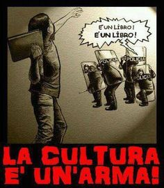 La cultura es un arma