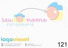 Câmera Estilo Arte - Por: Logovisual Enviado com personalização de nome em 10 cores diferentes sem fundo para aplicação em fotografias como marca d´agua. Valor Inbox   ( venda exclusiva, e também elaboroção da logo a partir de briefing ). Enviamos manual de procedimento de registro de marca junto ao INPI.