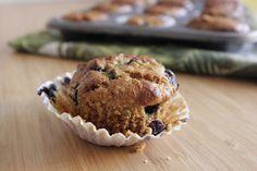 Muffins de arandanos y yogur - Reinas y Repollos