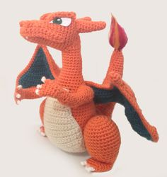 Make It: Crochet Charizard - Free Pattern #crochet #amigurumi #free #ravelry #pokemon