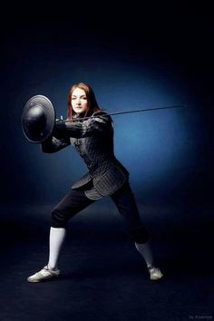 A Blue Things blue color logo Women's Fencing, Fencing Sport, Kendo, Medieval Armor, Medieval Fantasy, Martial Arts Club, Historical European Martial Arts, Fight Techniques, Illustration Story