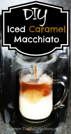 After spending lots of money those caramel macchiato starbucks drinks I decide to make my own caramel macchiato recipe at home!  It's really simple!