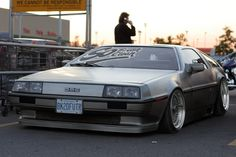 De Lorean - DMC-12 | Lowered, Slammed, Stance