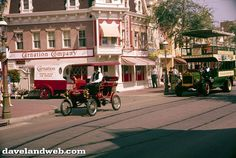 vintage everyday: Vintage Color Photos of Disneyland in the 1950s