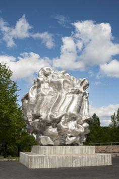 Gripping by Richard Deacon – Skulpturstopp