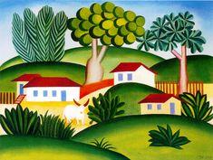 Paisagem com touro, 1925    Tarsila do Amaral ( Brasil, 1886 – 1973)