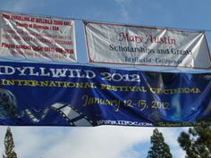 """We went to Idyllwild to promote """"Life at the Resort"""" in the film festival, Idyllwild International Festival of Cinema 2012"""