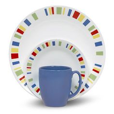 Corelle Livingware Memphis 16-Piece Dinnerware Set
