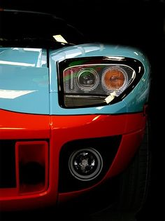 GT40 EYE:  Hillbanks loves Gulf colors.
