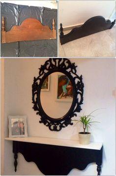 De Todo, Un Poco .: Cabeceros trasformados en elegantes muebles para su hogar