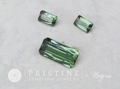 Green Tourmaline Set Paraiba Type Over 18 Carats for Custom Jewelry Set Pendant and Earrings October Birthstone Loose Gemstone