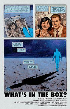 Adam Hughes - Before Watchmen - Dr Manhattan - Preview 5