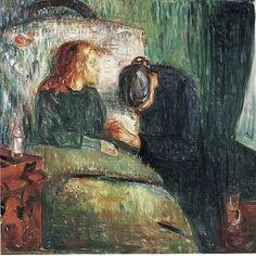 Edvard Munch - The sick child (1907) - Tate Modern - The Sick Child - Wikipedia, the free encyclopedia