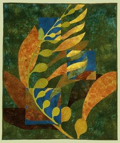 "image of quilt titled ""Kelp II"" by Cory Volkert © 2006"