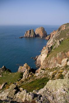 Alderney ~ (Channel Islands). Guernsey Channel Islands, Guernsey Island, Potato Peel Society, The Guernsey Literary, Volcanoes, Stones And Crystals, The Good Place, Rocks, Boards