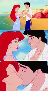 Kiss from The Little Mermaid