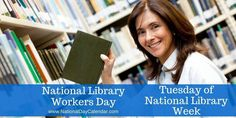 National Library Workers Day was first celebrated in 2004.  It was started as a way to raise support for better benefits and salaries at a time when they had been stagnant for years. National Library Workers Day Continues to promote increased benefits and wages for the services provided by library workers every day.  For complete information regarding National Library Week and National Library Workers Day: http://www.ala.org/conferencesevents/celebrationweeks