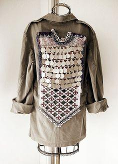 Army Vintage Jacket von OOAKShowroom und Etsy,  #jacket #ooakshowroom #vintage