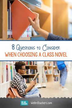 8 Questions to Consider When Choosing a Class Novel. Finding the right book for your class can be more complicated than you'd think. Here are 8 questions to conisder when choosing a class novel. Middle School Ela, Middle School English, High School, Historical Fiction Novels, Fiction And Nonfiction, Walter Dean Myers Books, Kids Reading, Reading Books, Teaching Jobs