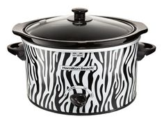 Your dinner guests will gush over this printed slow cooker. The best part? It's under $20! #cooking #kitchen