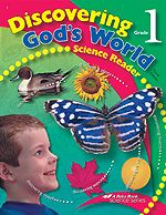 Discovering God's World - Science - Teaches children how to analyse things and discover the world around them through their senses. Also covers different animals and life cycles.