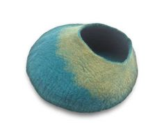 Shop where every purchase helps shelter pets! Walking Palm Cat Cave Turquoise/Green - from $49.99