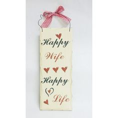 rodney dangerfield quotes about valentine's day - The Rustic Shop Happy Wife Happy Life Quote Rustic Wood