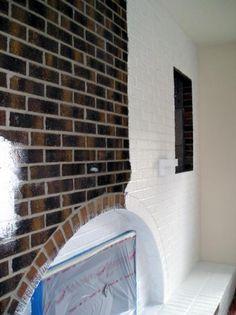 25 best how to paint brick images brick exteriors brick exterior rh pinterest com