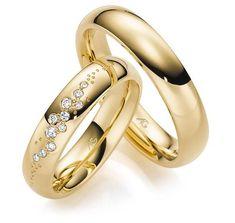 Verlobungsring Solitaire Gelbgold 585 Spannring 1 Brillant 0