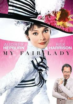 My Fair Lady [PN1997 .M943 2009] A misogynistic and snobbish phonetics professor agrees to a wager that he can take a flower girl and make her presentable in high society. Director:George Cukor Writers:Alan Jay Lerner (book), George Bernard Shaw (play), Stars:Audrey Hepburn, Rex Harrison, Stanley Holloway