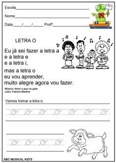 ATIVIDADES DE EDUCAÇÃO INFANTIL  E MUSICALIZAÇÃO INFANTIL: Vogal O - com música