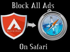 Block all Ads on #Safari Browser: