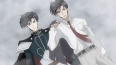 Sailor Moon Crystal Act 9 - Mamoru Chiba and Prince Endymion
