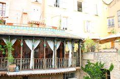 Moustiers-Sainte-Marie, Provence, France.