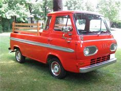 1965 Ford E150 - this is the car I want to drive!