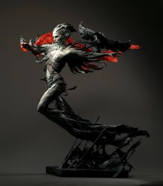 """Award winning sculpture """"The Morrigan"""" by Forest Rogers"""