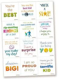 Image result for lunchbox messages for kids