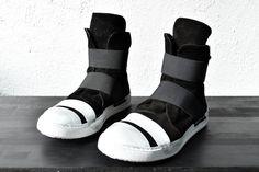 deviant blog - Masnada, high top sneakers